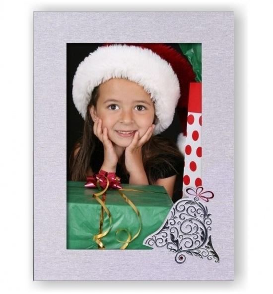 Vánoční papírový fotorámeček RV103