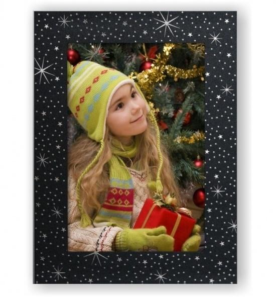 Vánoční papírový fotorámeček RV104