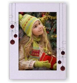 Vánoční papírový fotorámeček RV108