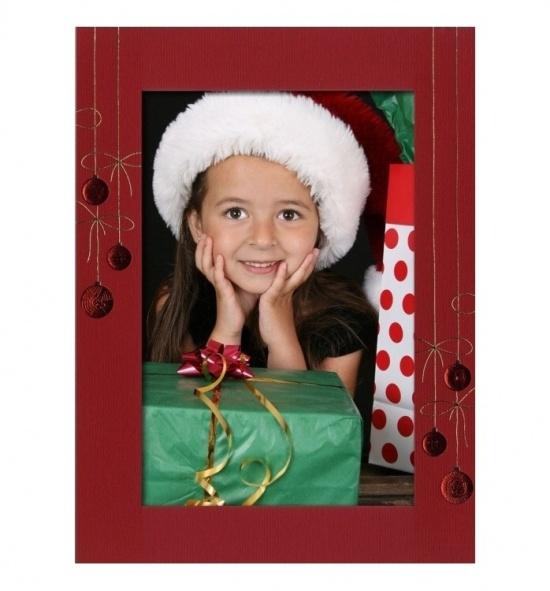 Vánoční papírový fotorámeček RV109