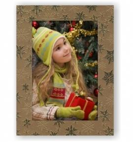 Vánoční papírový fotorámeček RV110