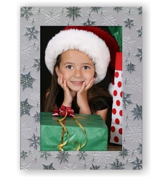 Vánoční papírový fotorámeček RV112