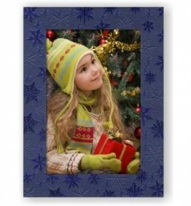 Vánoční papírový fotorámeček RV114