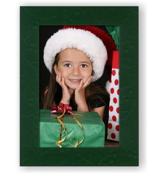 Vánoční papírový fotorámeček RV116
