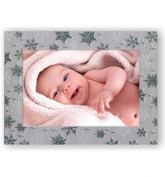 Vánoční papírový fotorámeček RV113