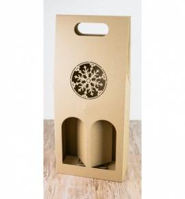 Dvojitá krabice na víno - DKVH005