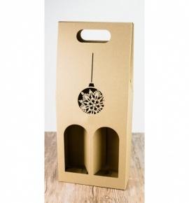 Dvojitá krabice na víno - DKVH751