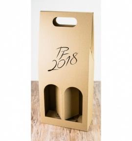 Dvojitá krabice na víno - DKVH753