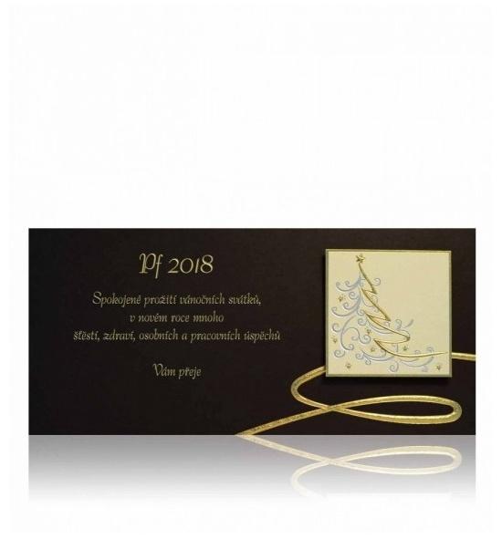 Novoroční přání - PF 2018 - P639