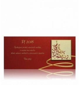 Novoroční přání - PF 2018 - P637