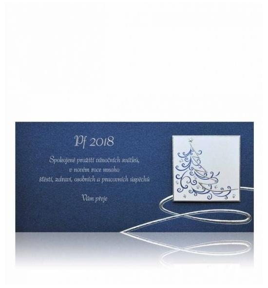 Novoroční přání - PF 2018 - P354