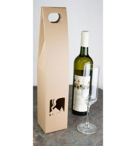 Krabice na víno - KVH008