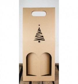 Dvojitá krabice na víno - DKVH023