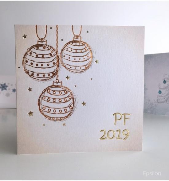 Novoroční přání - PF 2019 - N907