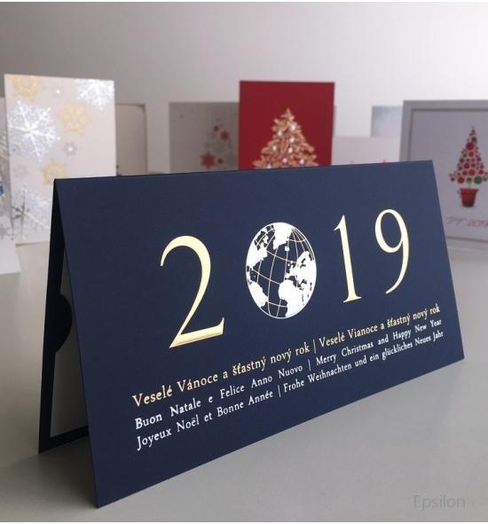 Novoroční přání - PF 2019 - N917