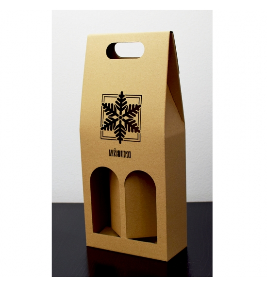 Dvojitá krabice na víno - DKVH903