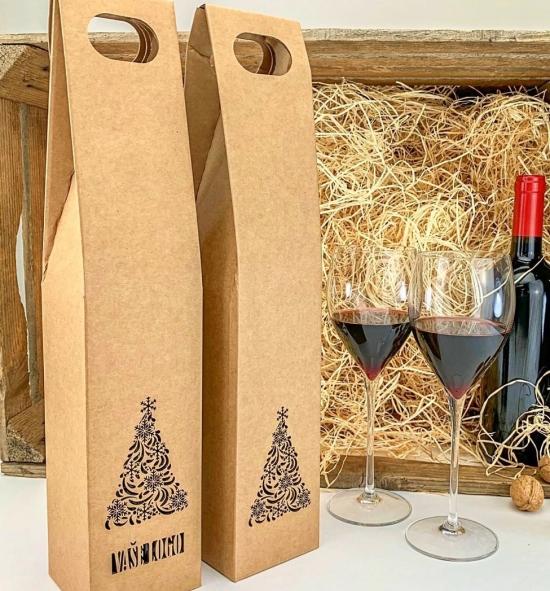 Krabice na víno - KVH9009-90