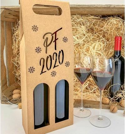 Krabice na víno - KVH9000 - 2 lahve