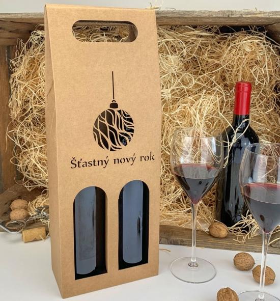 Krabice na víno - KVH9006 - 2 lahve