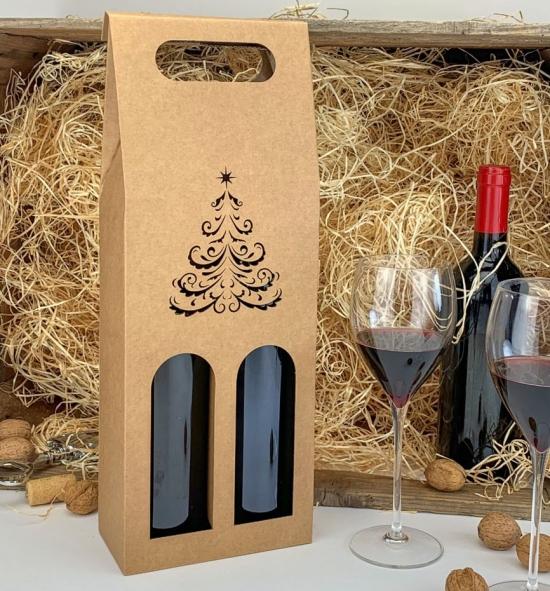 Krabice na víno - KVH9012 - 2 lahve