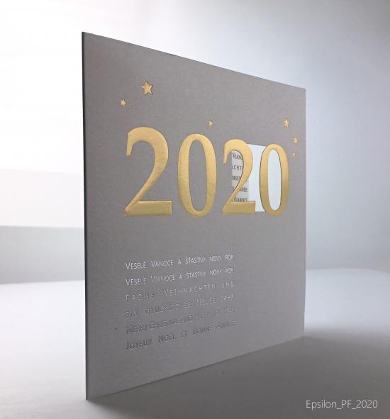 Novoroční přání - PF 2020 – N2010