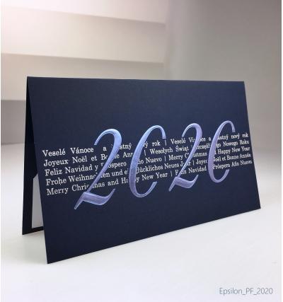 Novoroční přání - PF 2020 – N2035