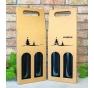 Krabice na víno - K71-2104 - 2 láhve