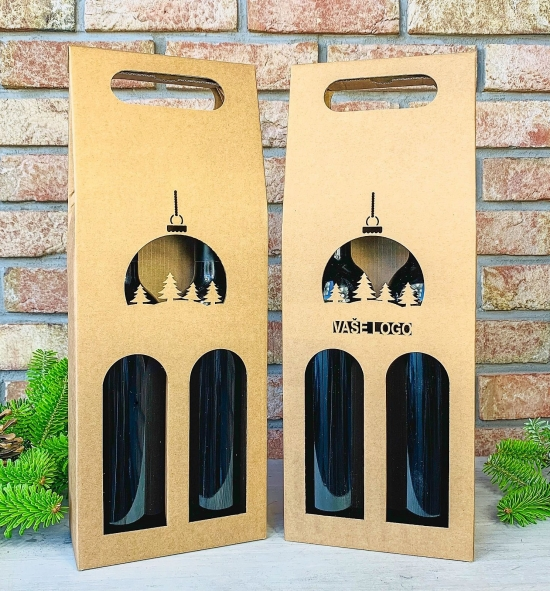 Krabice na víno - K71-2105 - 2 láhve