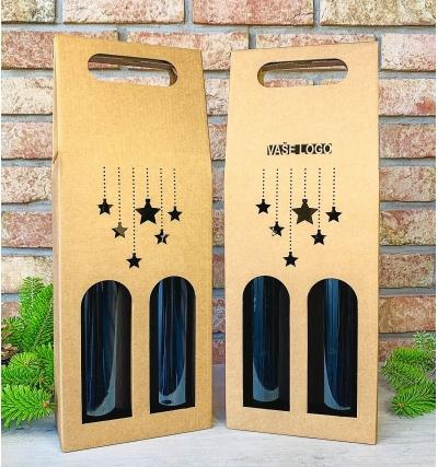 Krabice na víno - K71-2119 - 2 láhve