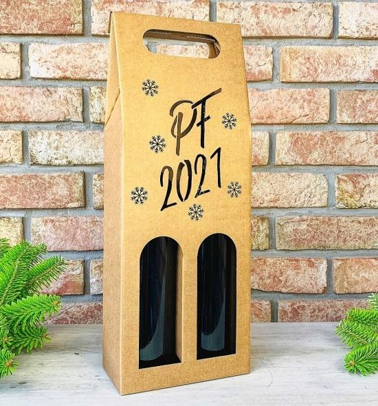 Krabice na víno - K71-2143 - 2 láhve