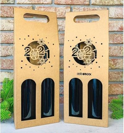 Krabice na víno - K71-2144 - 2 láhve
