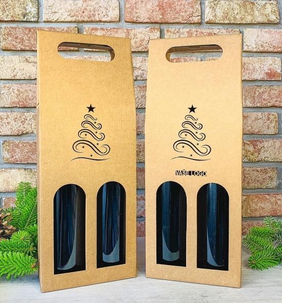 Krabice na víno - K71-2148 - 2 láhve