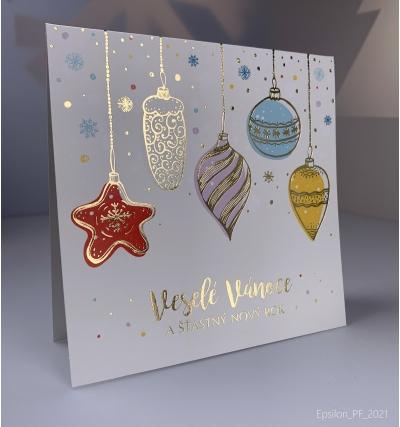 Novoroční přání - PF 2021 – N2115