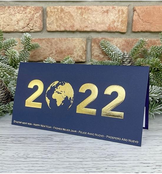 Novoroční přání - PF 2022 – N2207