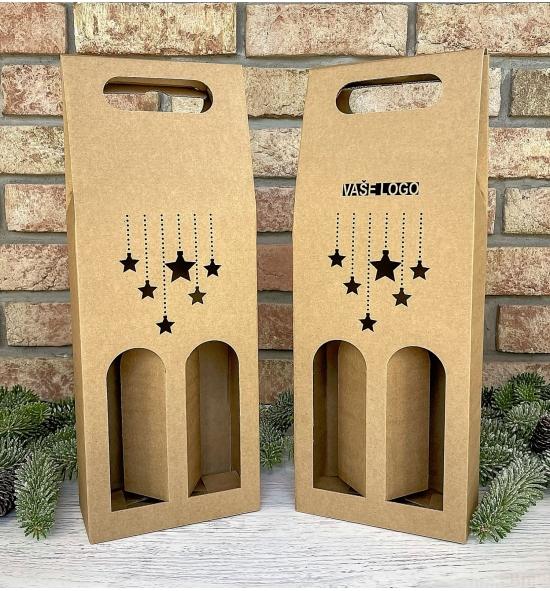 Krabice na víno - K71-2225 - 2 láhve