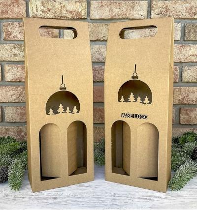 Krabice na víno - K71-2226 - 2 láhve
