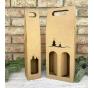 Krabice na víno - K71-2227 - 2 láhve