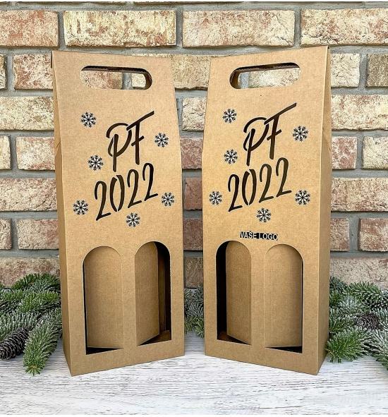 Krabice na víno - K71-2238 - 2 láhve