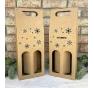 Krabice na víno - K71-9018 - 2 láhve