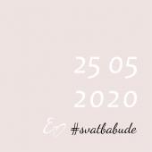 #napamatku 🚫👰🏼 Všichni víme - svatby do 10 lidí už možné jsou, bez 😷. Návrat prvních klasických svateb a hostin, bez výraznějších omezení, očekáváme za měsíc 🌸❤️🍀 #svatba2020  #budesvatba #svatebnioznameni  #svatbabude #oznameni #tiskoznameni #svatebni #ceskevyrobky #svatba #svatebníobřad #svatebníhostina #epsilonpraha